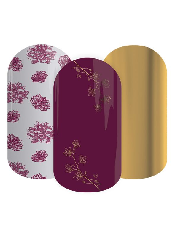 Winter Bloom - Lacquer Strip