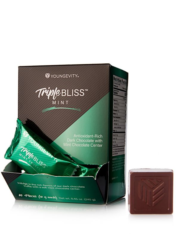Triple Bliss™ Mint Chocolate