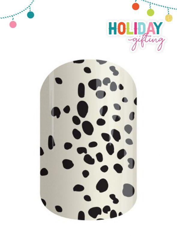 Snow Leopard - Nail Wrap