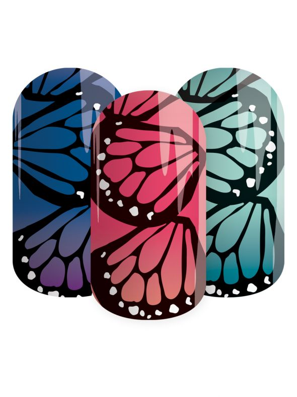 Butterfly Wings - Lacquer Strip