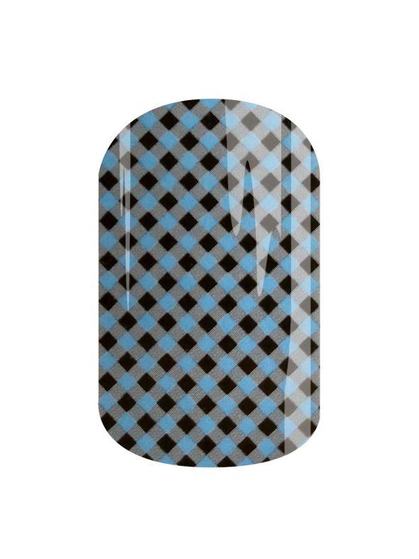 Burner Blue - Nail Wrap