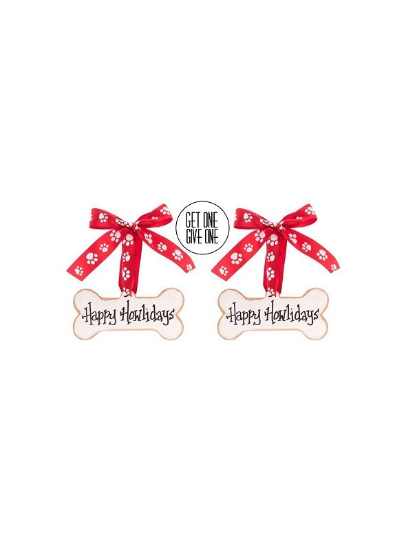 FTO Dog Bone Ornament [QTY: 2; Give One Get One FREE]