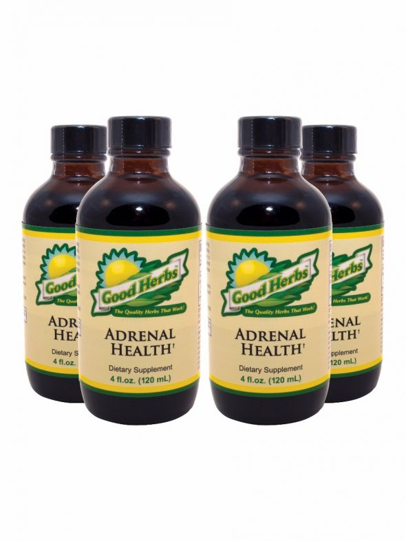 Adrenal Health (4oz) - 4 Pack