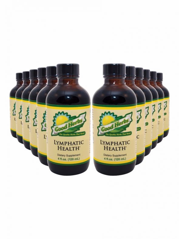 Lymphatic Health (4oz) - 12 Pack