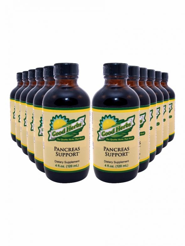 Pancreas Support (4oz) - 12 Pack