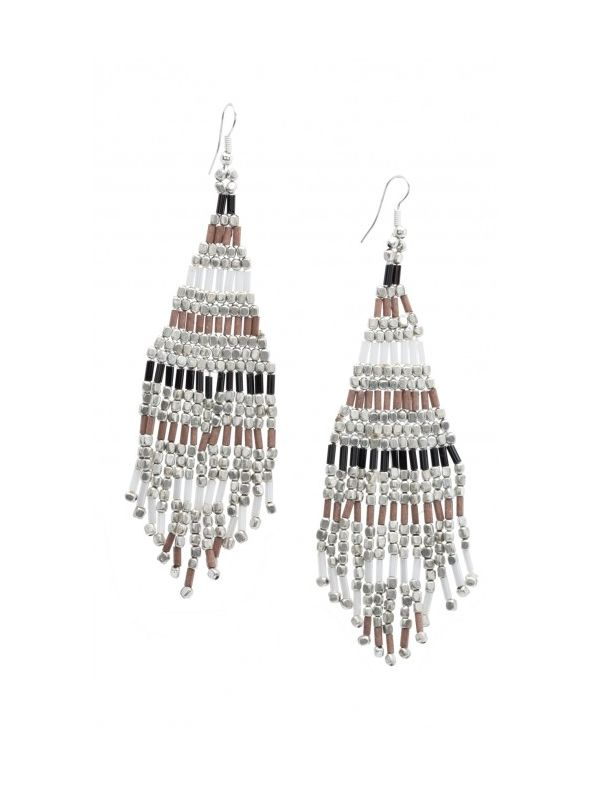 Earthtone Bouquet Earrings