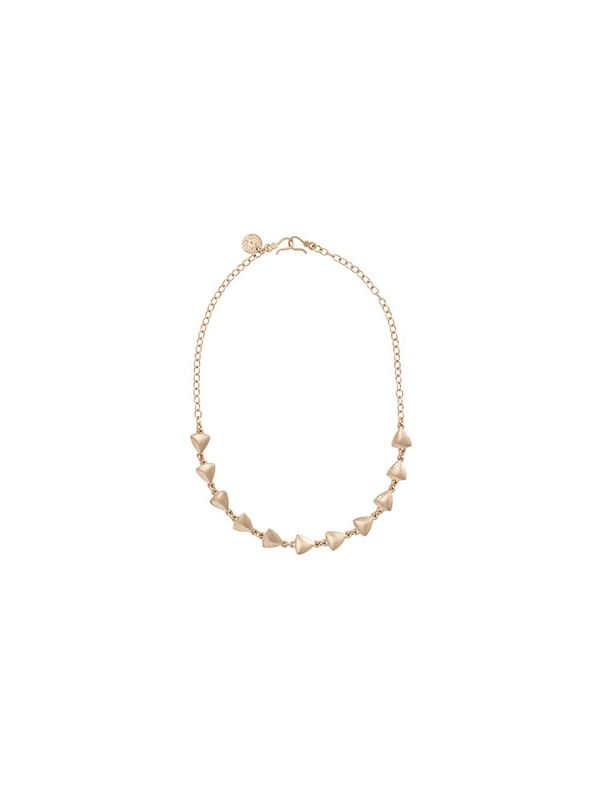 Arrows Expression Gold Necklace