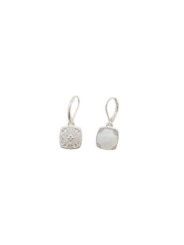 Fiona Earrings Silver