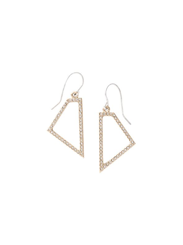 Trapezium Earrings