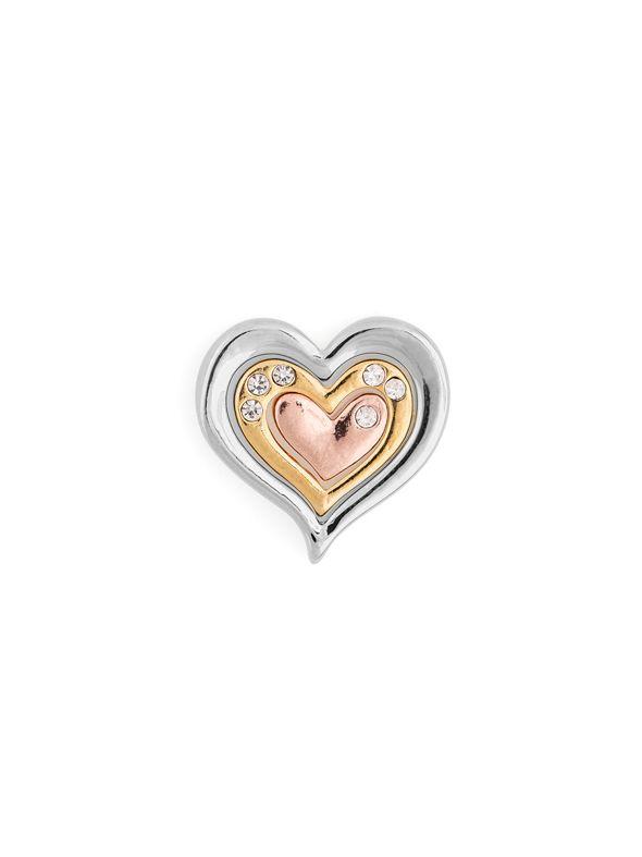 Nesting Hearts Charm