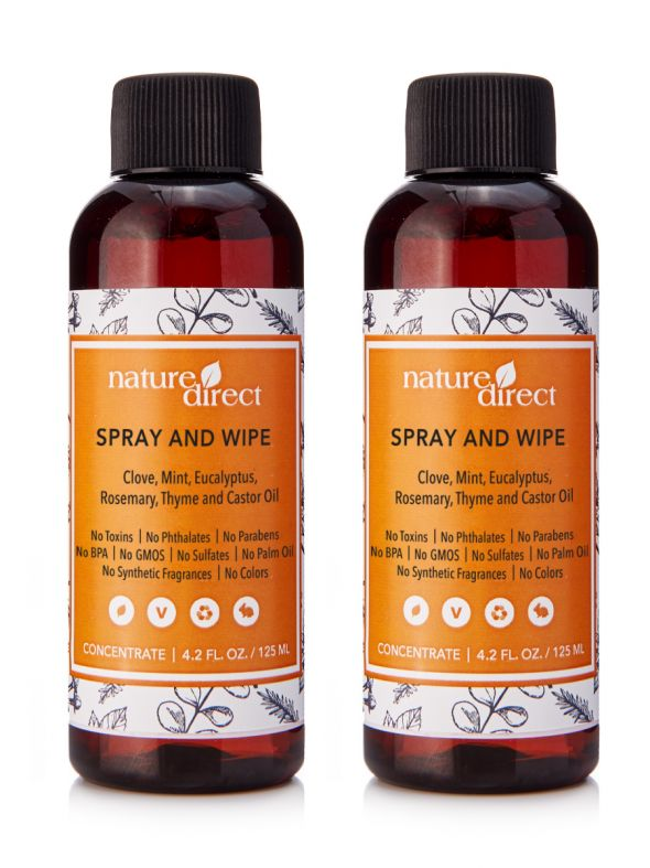Nature Direct Spray and Wipe Concentrate Bundle