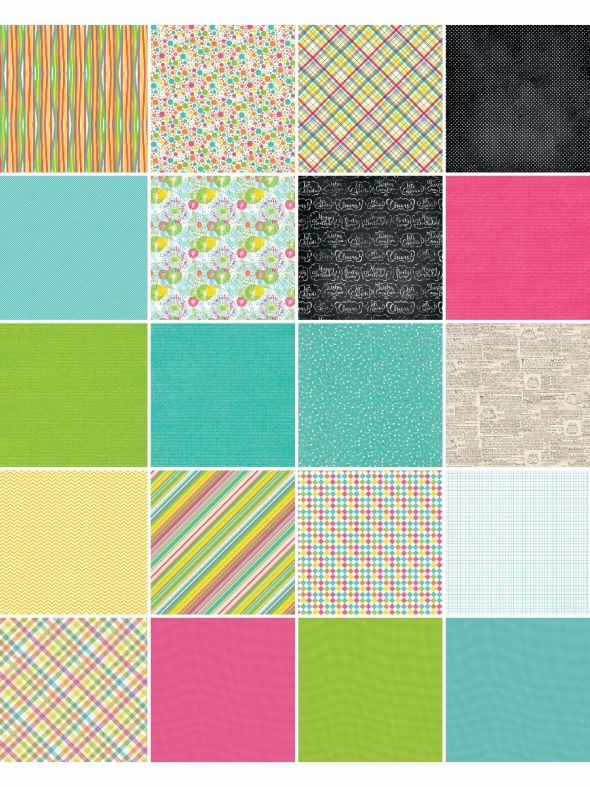 Party Bright's by Katie Pertiet Designer Cardstock
