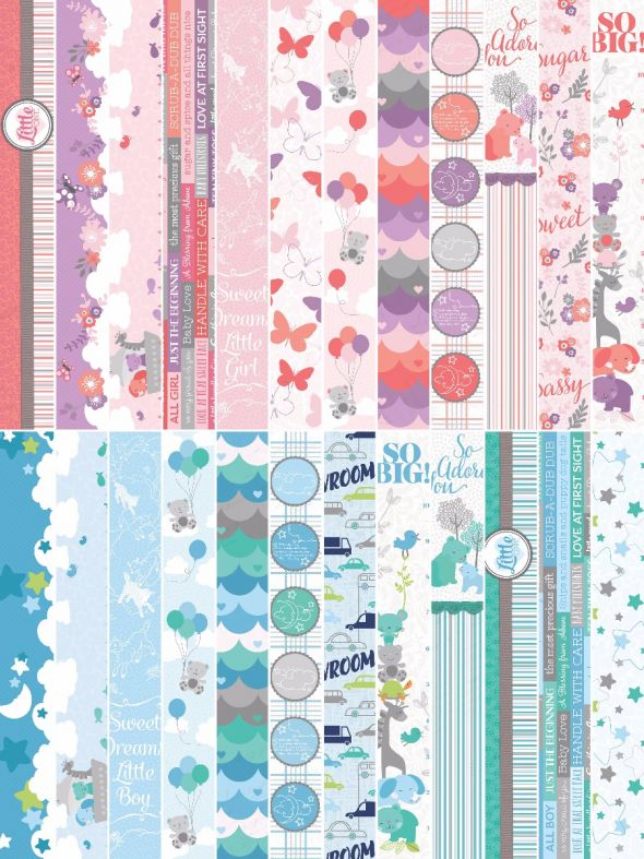Little Ones Border Strips