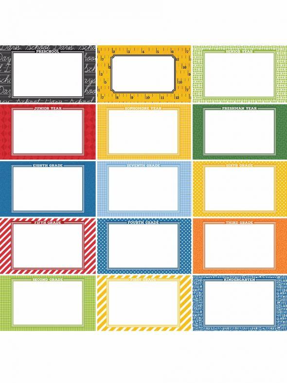 School Days by Katie Pertiet Designer Journal /Mounting Cards