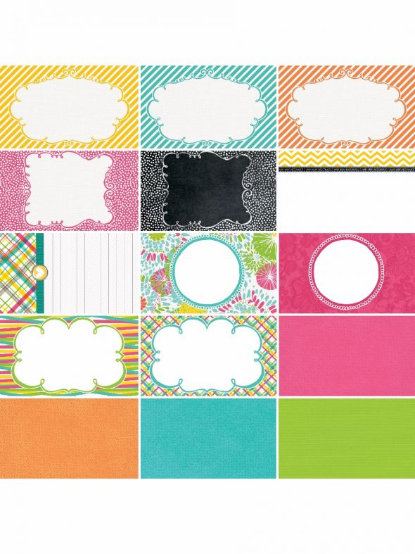 Party Bright's by Katie Pertiet Designer Journal/Mounting Cards