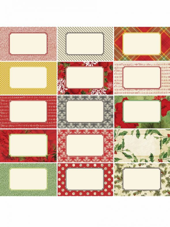 Joyous Noel by Katie Pertiet Designer Journal/Mounting Cards