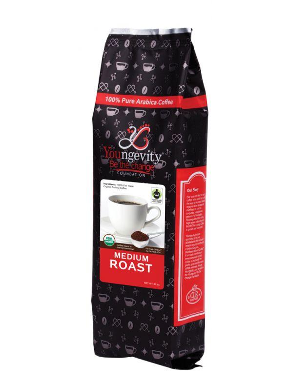 Be The Change Coffee - Fair Trade Organic Original Medium Roast - Ground (12oz)  QTY: 1