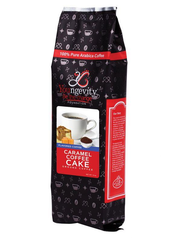 Be The Change Caramel Coffee Cake 12oz Ground Coffee QTY: 1