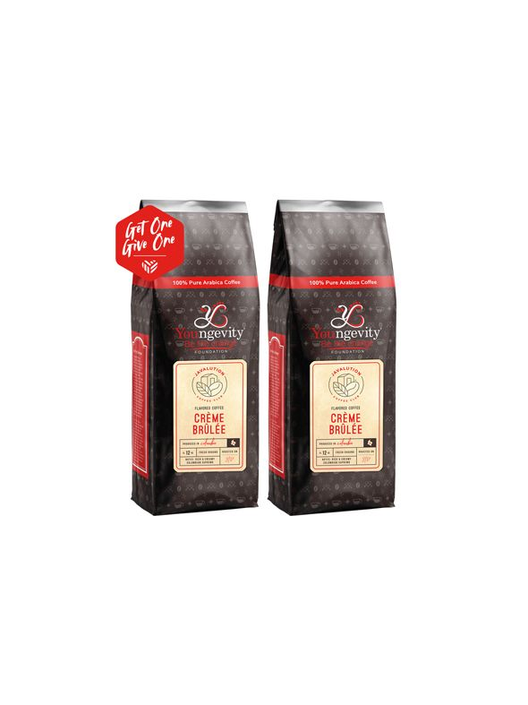 Javalution Club Crème Brulee Flavored Coffee Limited Edition—Columbia Ground (12oz) [QTY: 2 | Get One, Give One FREE]