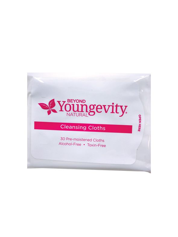 Beyond Youngevity Natural Cleansing Cloths