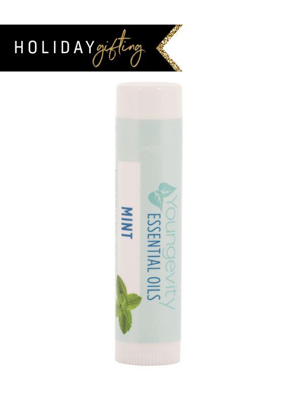 Mint Essential Oil Lip Balm Stocking Stuffer