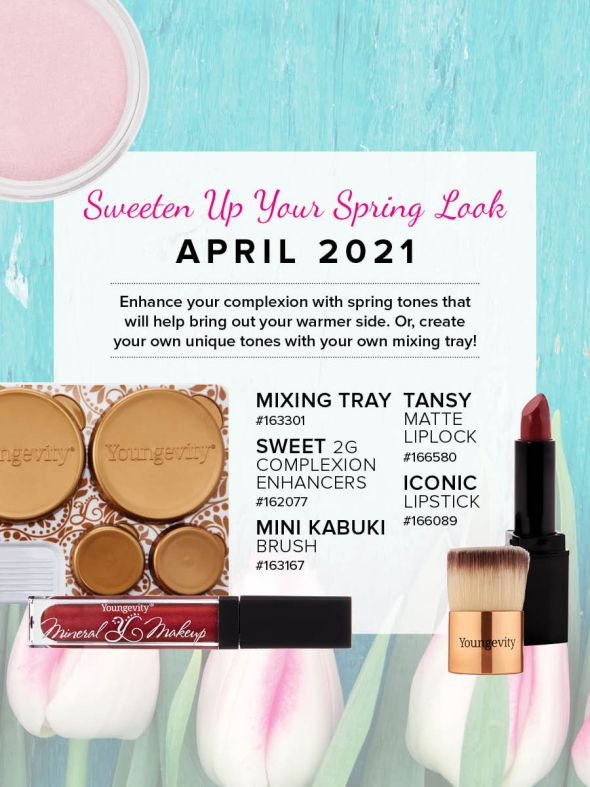Mineral Makeup of the Month Club - April 2021