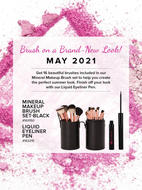 Mineral Makeup of the Month Club - May 2021