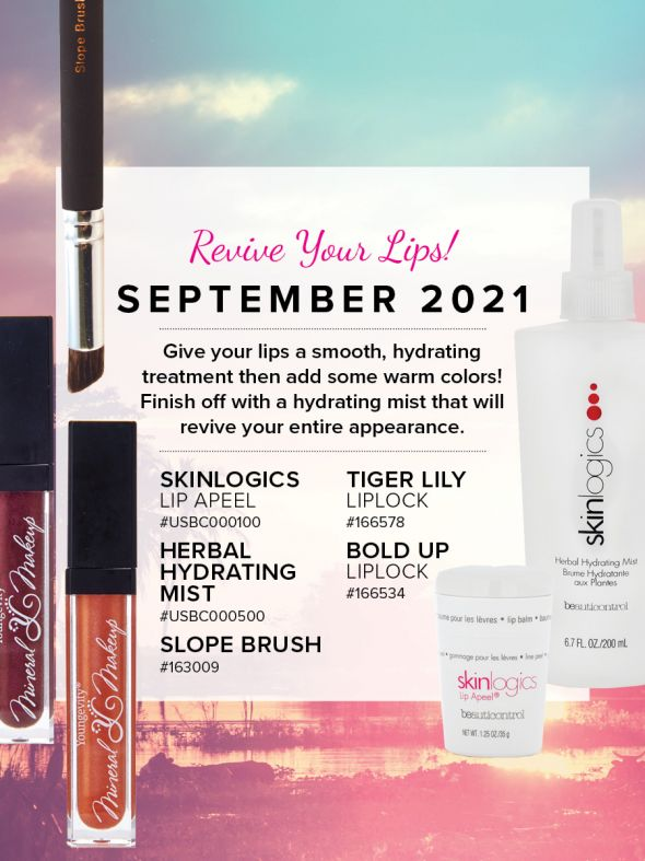 Mineral Makeup of the Month Club - September 2021