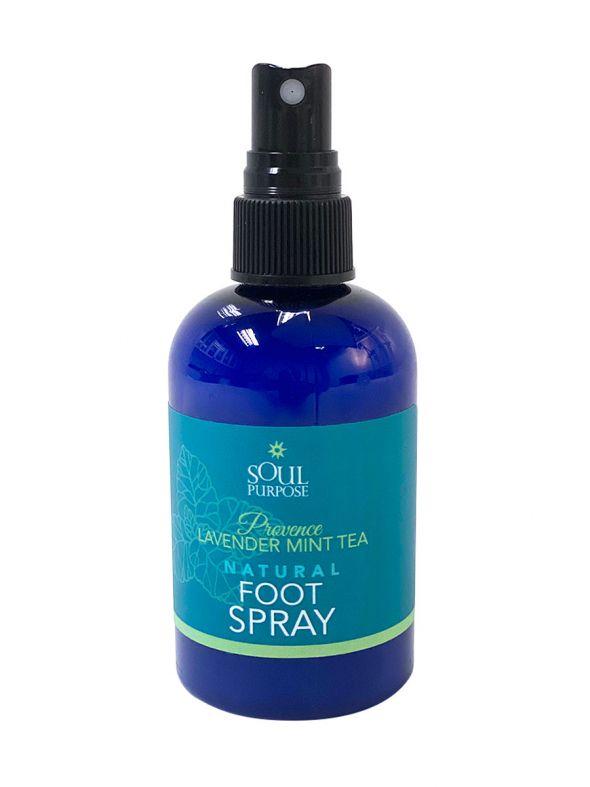 Provence Lavender Mint Tea Natural Foot Spray - 4.43 oz