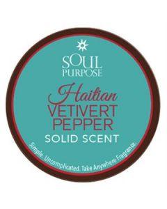 Haitian Vetivert Pepper Solid Scent - 0.5 oz