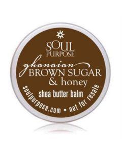 Ghanaian Brown Sugar & Honey Body Balm Sample Pack (20 Pack)