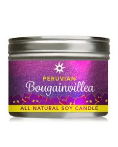 Bougainvillea Candle Tin