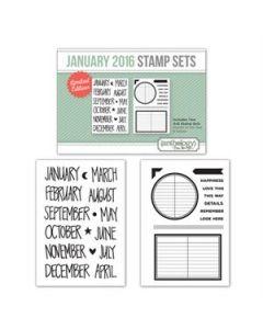 January Stamp Set