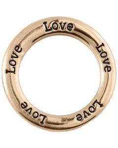 'Love' Large Rose Gold Frame