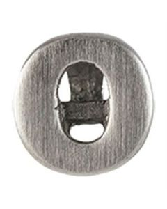Silver 'O' Slider Charm