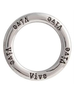 'Vive' Large Silver Frame