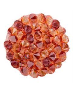 Medium Red Magma Crystal Embellishment