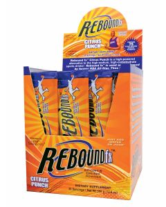 Rebound Fx&Trade; On-The-Go Pouches Citrus Punch - 30 Count Box
