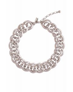 Sophisticated Silver Tone Necklace