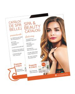 Youngevity Spa and Beauty 2017 Catalog (10 Pack)