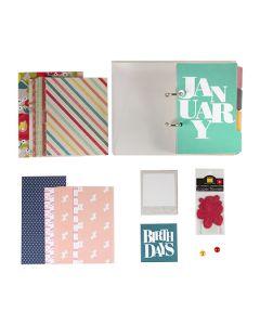 Anthology Perpetual Birthday Calendar Kit - save 30% - $34.97, normally $49.95