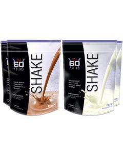 Shape Pack 3 (2 Chocolate ,  2 Vanilla SHAKEs)