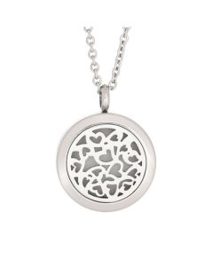 Multi Heart Essential Oil Locket