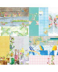"""Springtime by Lauren Hinds 2"""" Border Strips - Set 12"""