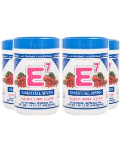 E7® Natural Berry (4 canisters)
