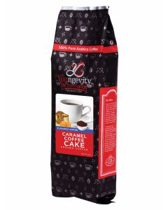YBTC Coffee - Caramel Coffee Cake Ground (12oz)